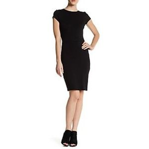 Max Studio Body Con Textured Dress